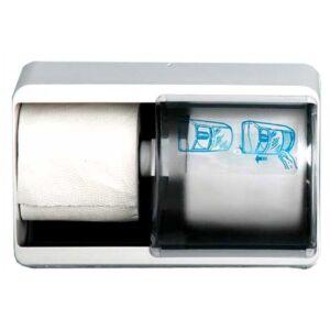 Toiletdispenser 2 rollen