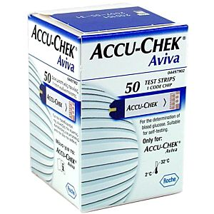 Accu-chek Aviva Strips
