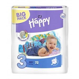 Bella Baby Happy Luiers Midi (5-9kg), size 3