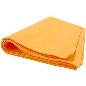Dweil effen wasset oranje licht
