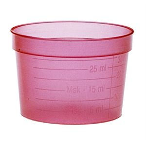 Medicatiebeker 30 ml - wegwerp