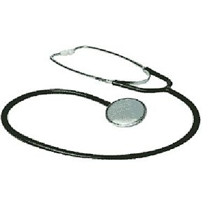 Platte stethoscoop
