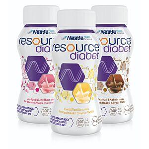 Resource Diabet 24x 200ml (kies uw smaak)